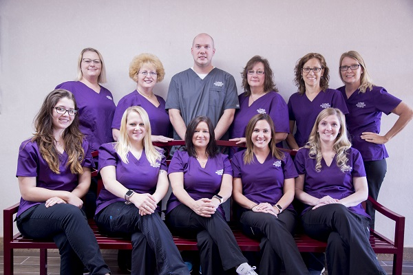 clinical staff from Lehigh Oral and Maxillofacial Surgery office.